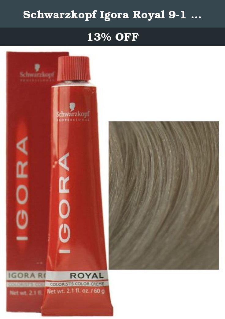 Schwarzkopf Igora Royal 9 1 Extra Light Blonde Cendre Permanent