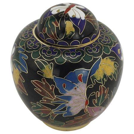 Butterfly Cloisonne Keepsake Urn | Butterfly Urns & Jewelry