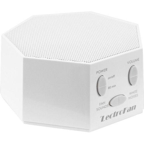 LectroFan - White Noise and Fan Sound Machine - White ...