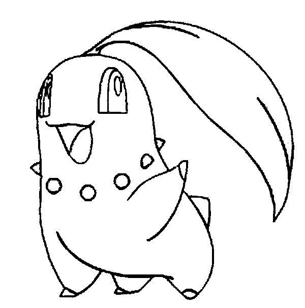 dibujos-para-colorear-pokemon-planta-chikorita | Pokemon | Pinterest ...
