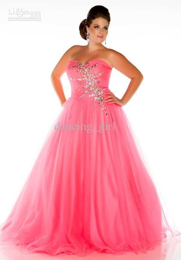 plus size prom dresses 2014 | Plus size 2014 Hot Bright Turquoise ...