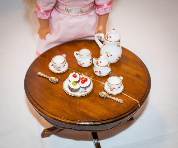 Felicity Plate American Girl Tea Time Treats
