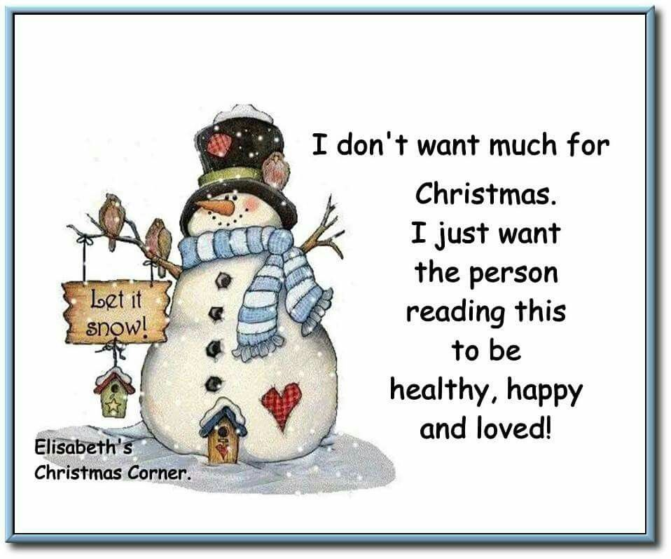 Many Christmas Blessing Wishes To All My Pinterest & FB