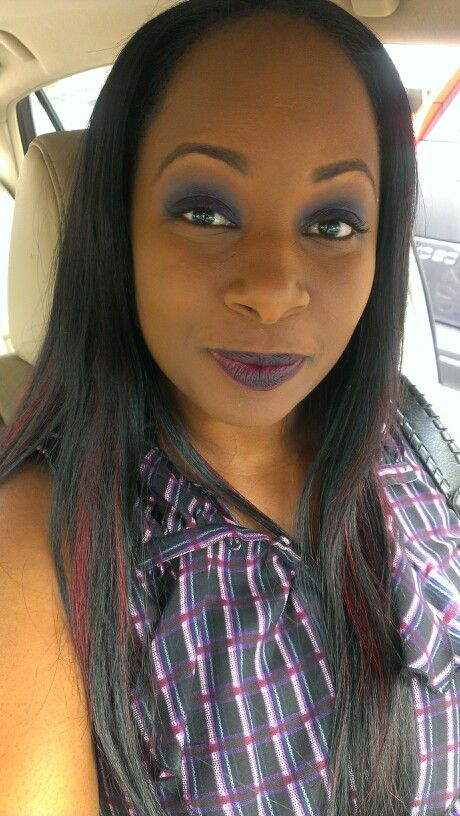 Fotd #wetnwild Vamp it up l/s, Graftobian foundation and a Coastalscent hotpot e/s