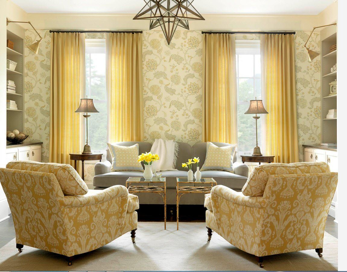 Living Room Curtains Design Ideas 2016. Yet another classic styled ...