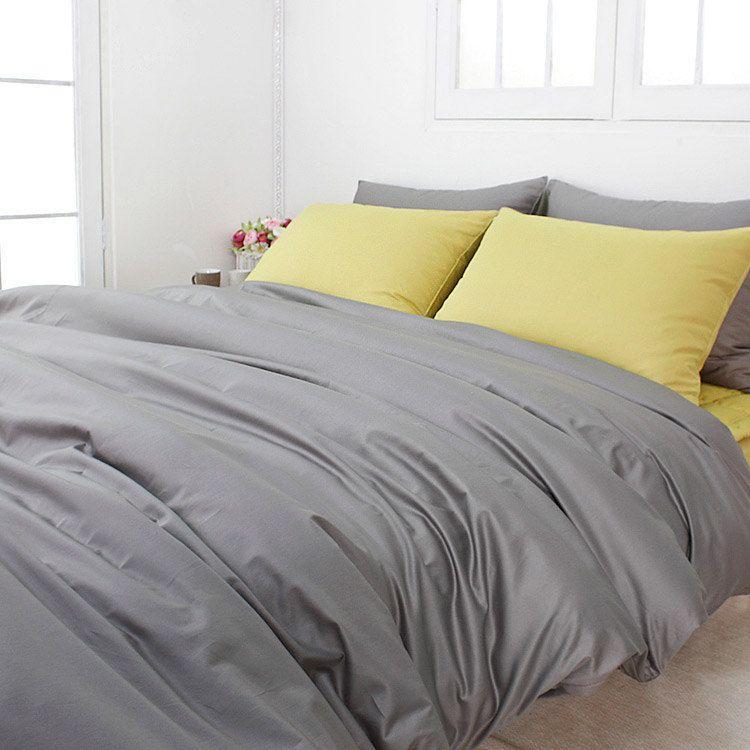 820TC High Quality Solid Gray Queen Duvet Cover Set. $185.95, via ... : grey quilt cover set - Adamdwight.com