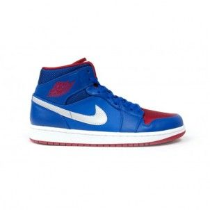 sports shoes ee88b b6668 ... coupon for 554724 407 air jordan 1 retro mid detroit pistons game royal  gym red white