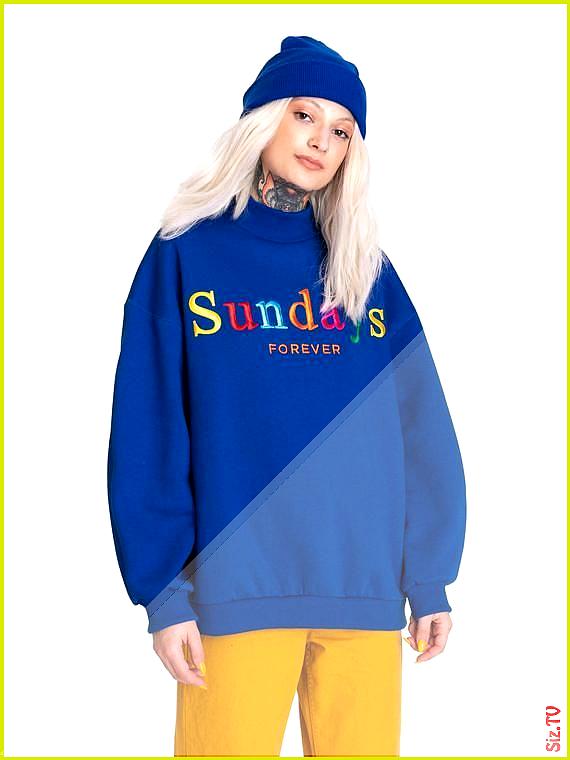 Sundays Oversized Hoodie Sweater Sweatshirt Jumper Top Womens Tumblr Grunge Goth Kawaii Hipster Fas