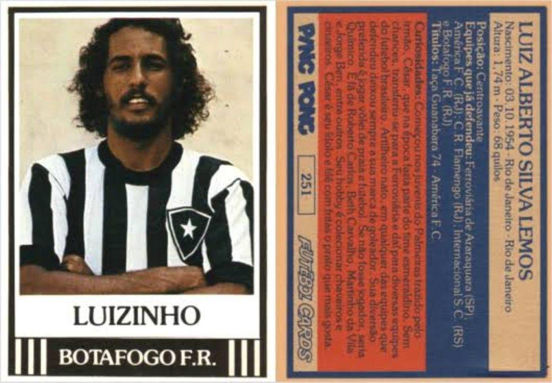 Luisinho Lemos, Botafogo. Botafogo, Futebol e Taças