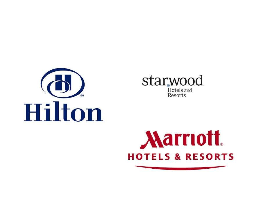 3 The Main Hotel Chains All Have Something To Offer Wherever Joe