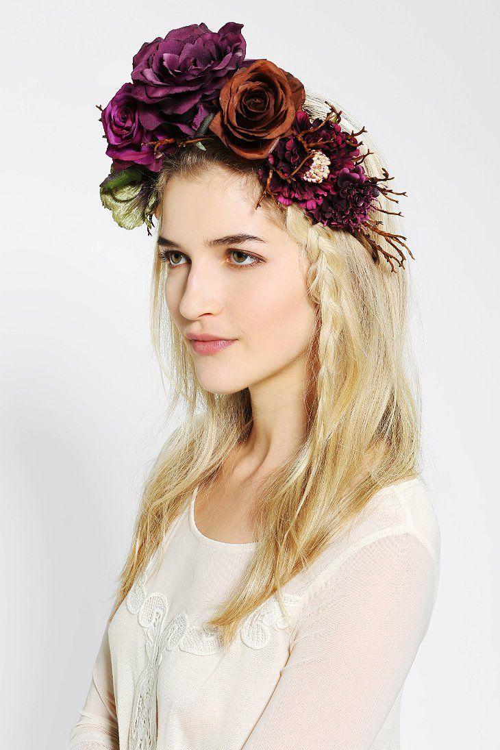 Katie burley millinery woodland queen flower crown headwrap katie burley millinery woodland queen flower crown headwrap izmirmasajfo