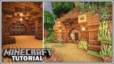 Minecraft Hobbit Hole Storage Room Tutorial