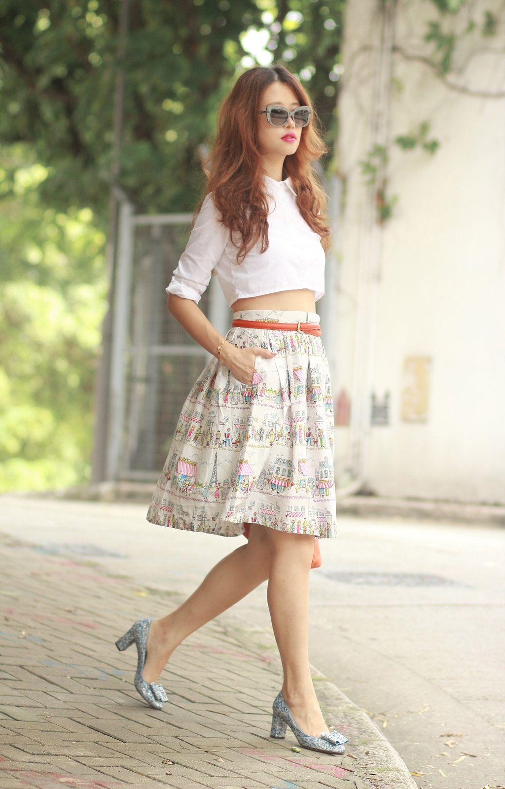 encantadora falda