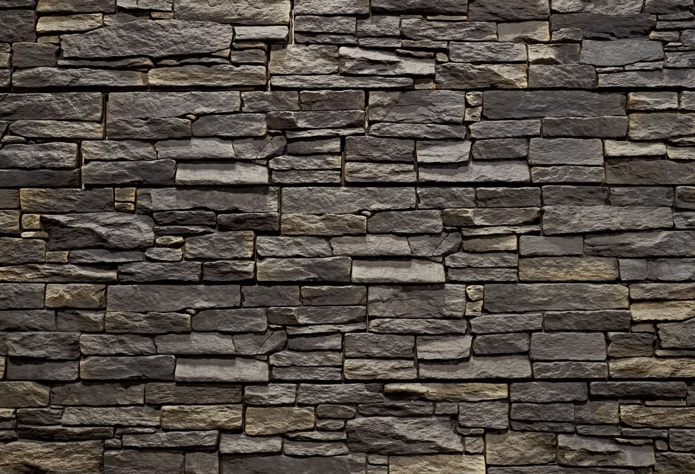 Interior wall cladding panel / exterior / concrete / stone ...