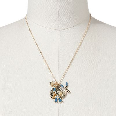 Love this! Want it!--LC Lauren Conrad Gold Tone Gardening Charm Necklace