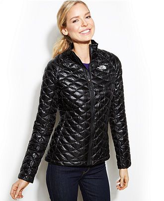 The North Face Thermoball Quilted Jacket - Coats - Women - Macy's ... : north face quilted coats - Adamdwight.com