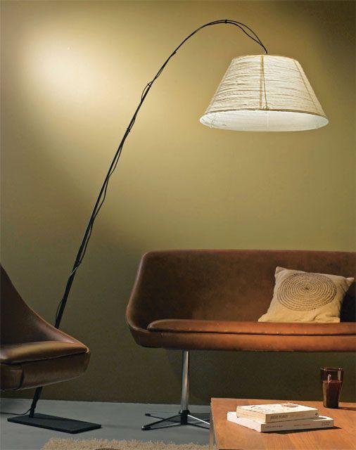 lampadaire kanapech r f 538719 lampadaire kanapech colours pied en m tal abat jour en papier. Black Bedroom Furniture Sets. Home Design Ideas