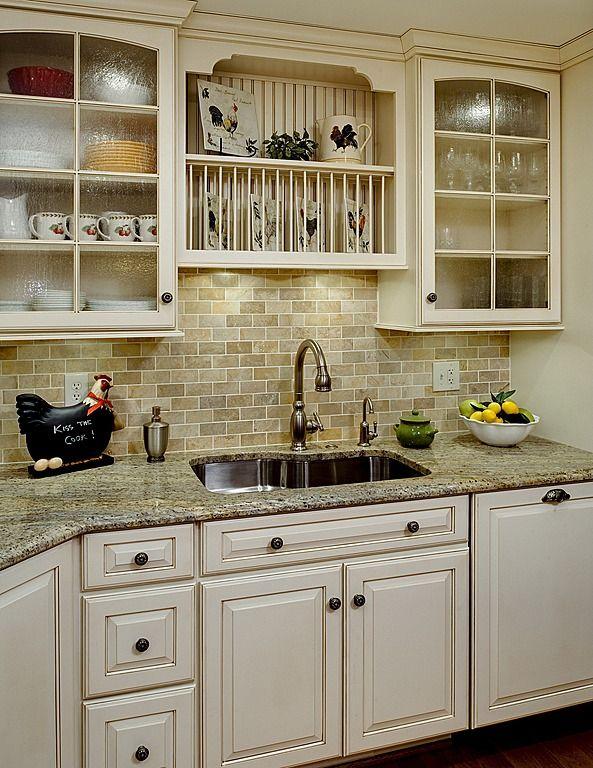 Pretty Country Kitchen Country Kitchen Countertops Country Kitchen Kitchen Design