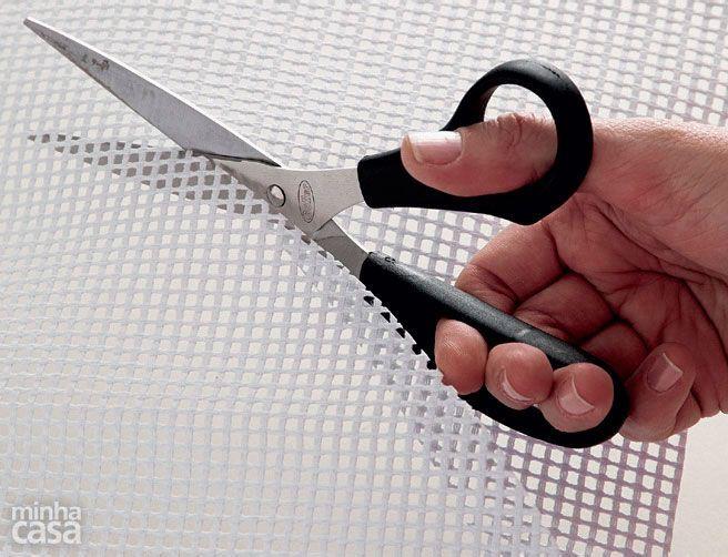 rede para os tapetes de lã