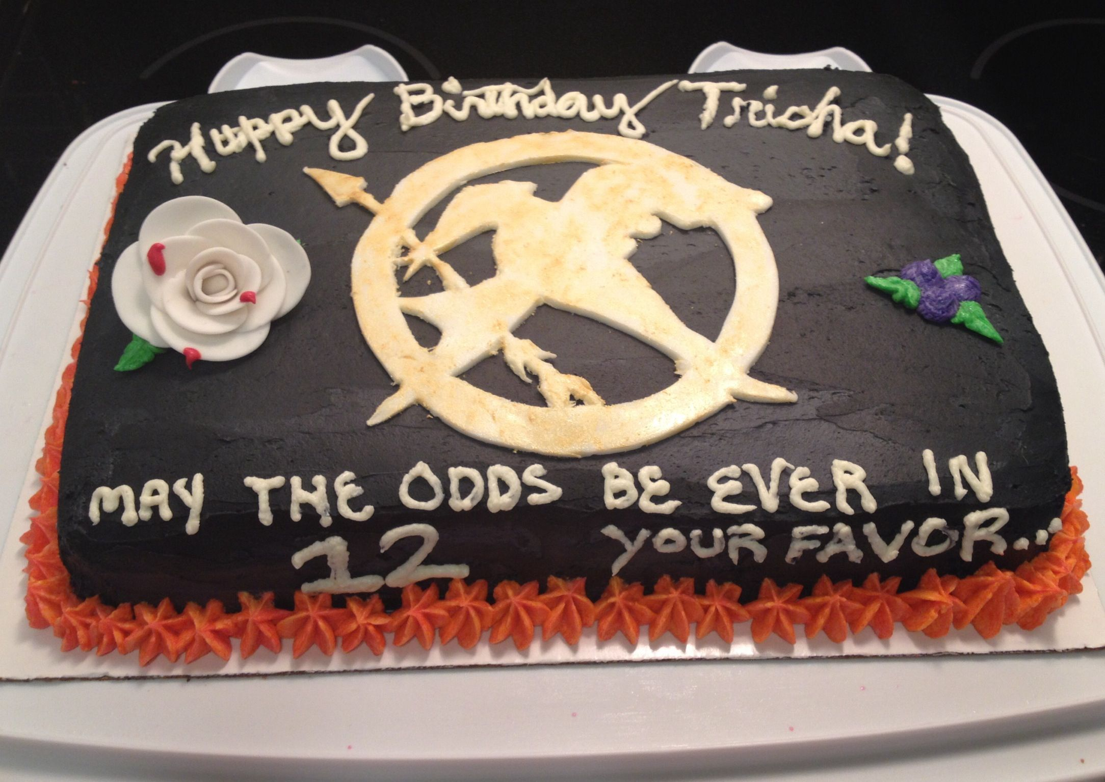 Nerdy Nummies Hunger Games Cake