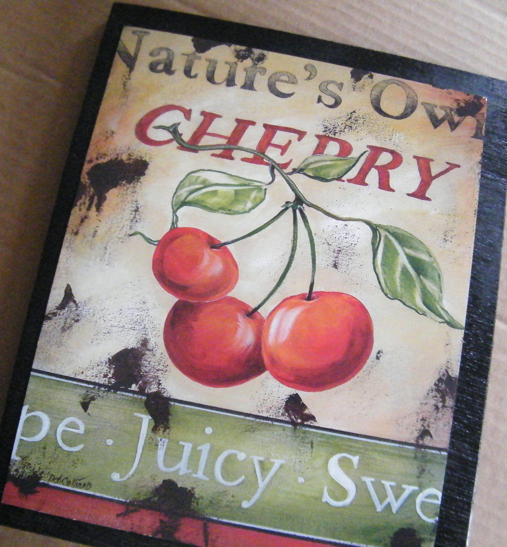 Retro Cherry Kitchen Decor 1000 Images About Cherry Kitchen Will Have On Pinterest