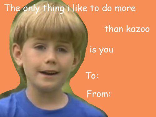 Kazoo Boy · Valentine Day CardsHappy ...
