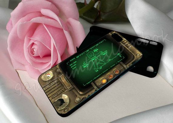 iphone pip boy pipboy 3000 fallout for iphone 4 4s by 8453