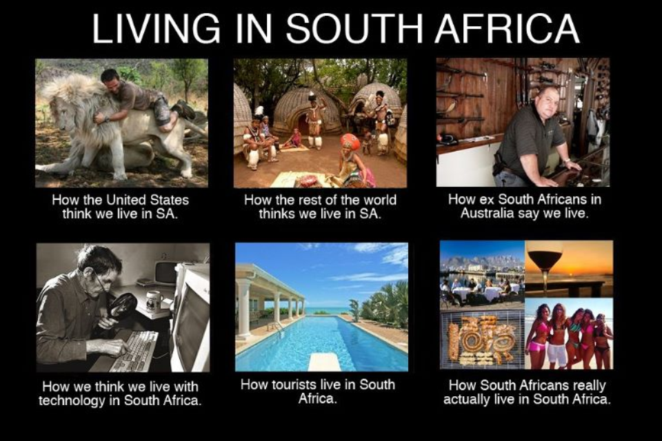 Living in South Africa. The Meme. South africa, African