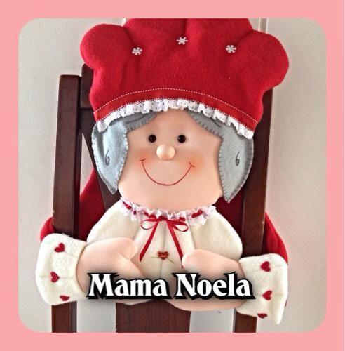 mamá noel para silla