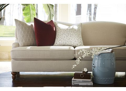 Superbe Melody Sofa   Havertys (this Is My 2nd Choice. Has The Nice Back And Only  Two Cushions As A Couch. )