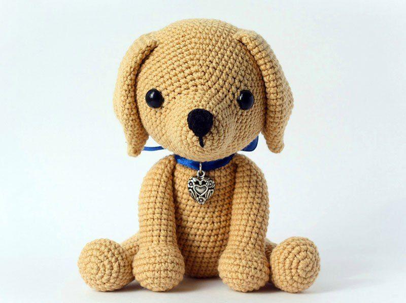 Lucky puppy amigurumi pattern | Patrones, El perro y Patrones amigurumi
