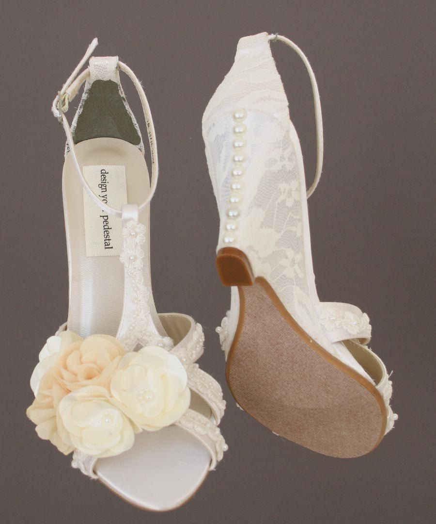 Best 25 Wedge wedding shoes ideas on Pinterest  Bridal wedges Comfy wedding shoes and Outdoor