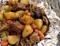Hobo Stew Recipe Pack   foil pack dinners