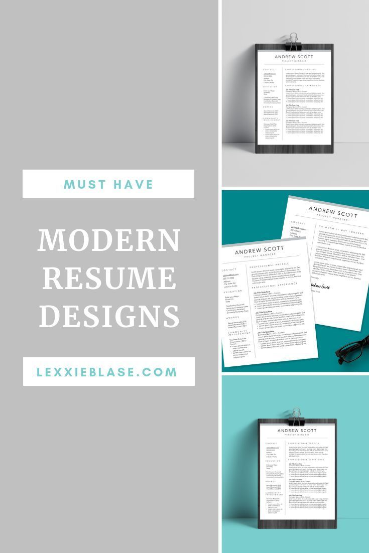 Must have resume templates to get you noticed a stand out
