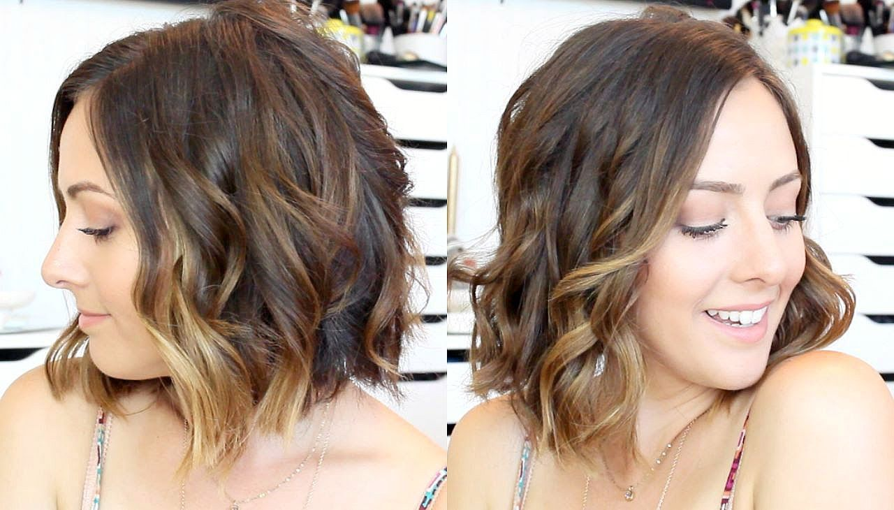 How To Curl Hair With A Straightener Amp Curling Wand