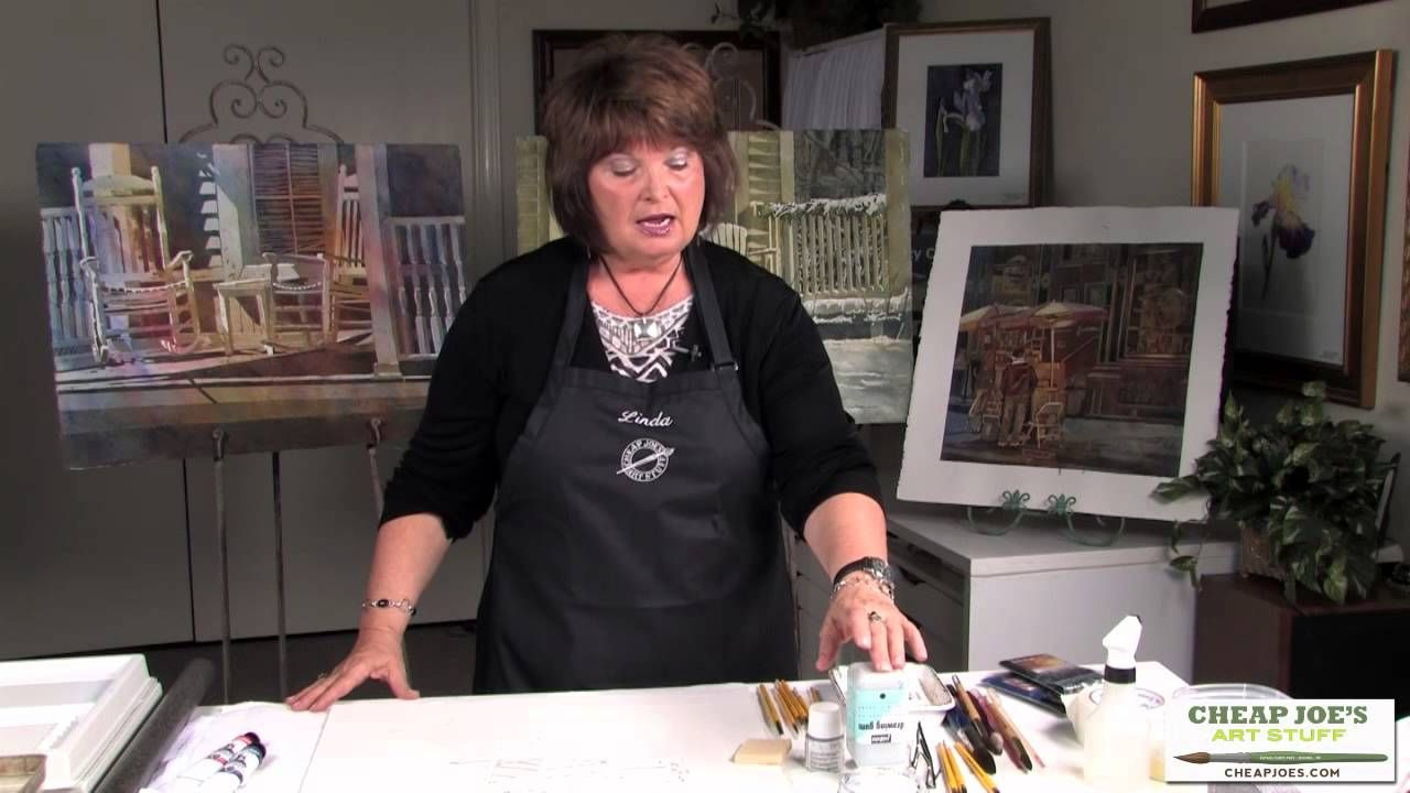 Masking Techniques and Tips with Linda Baker