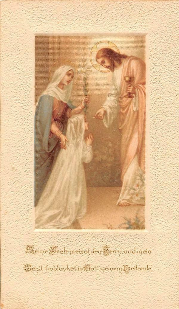 """OLD nice german rare   Holycards from 1900""""H3228"""" holy jesus"""