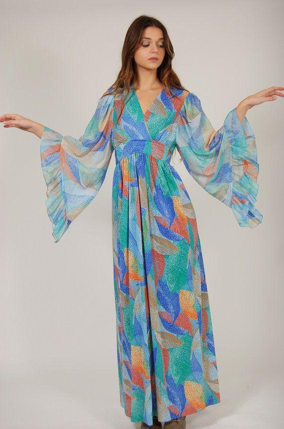Style a maxi dress 70
