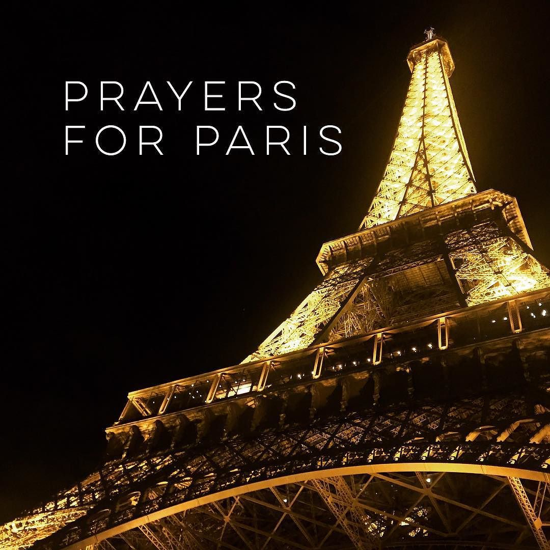 My deepest condolences and prayers go to those who have lost loved ones in the wake of the events within the last few hours. Very thankful for me and my mom to be safe right now in Paris by eerica44