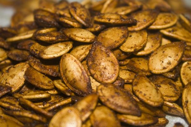 Roasted Pumpkin Seeds #seeds #seeds #food