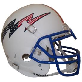 Air Force Falcons Football Helmet Red White Blue Football Helmets Nfl Football Helmets College Football Helmets