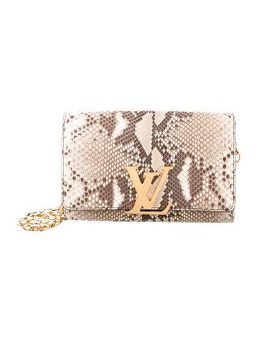 Louis Vuitton Python Chain Louise GM  82459fa4b4b
