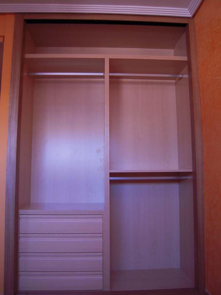 Armarios armario armarios a medida armarios empotrados frentes de armario interiores de armario - Armarios empotrados interiores ...