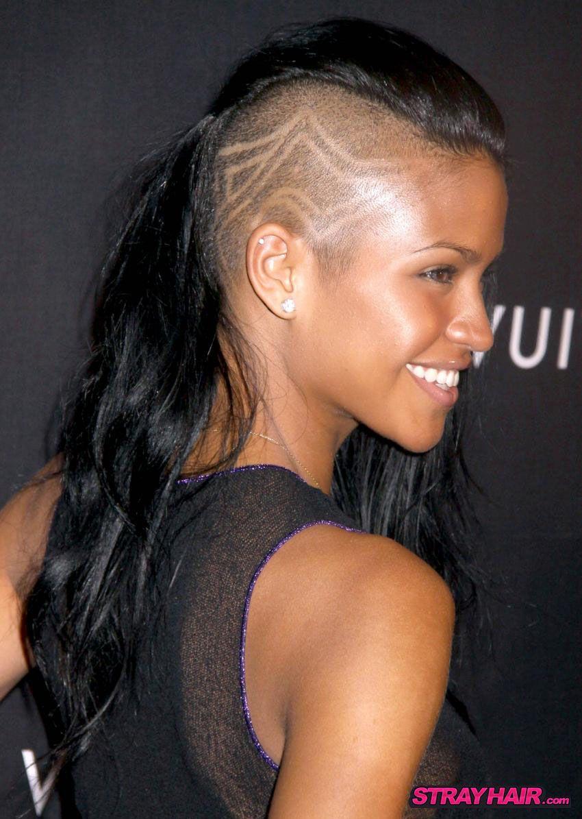cassie undercut hair designs | hair maybe? | hair styles