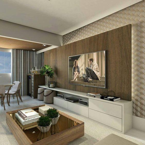 meuble tv salon moderne design d coration coin t levision a realiser dimanche. Black Bedroom Furniture Sets. Home Design Ideas