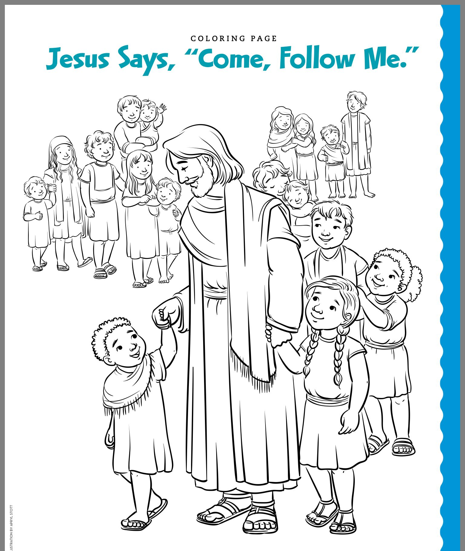 Pin By Caril Bernard On 2019 Come Follow Me Family Coloring Pages Lds Coloring Pages Jesus Coloring Pages