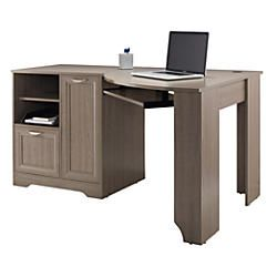 Realspace Magellan Collection Corner Desk Gray Item 678981 In