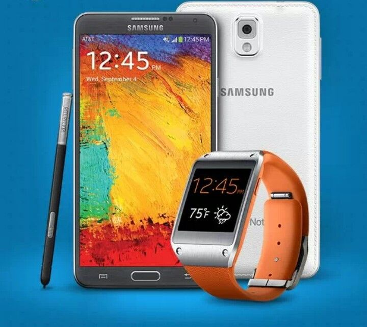 Galaxy note 3 & Galaxy gear watch