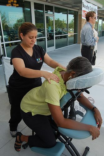 Complimentary Chair Massage Grand Opening Massage Complimentary