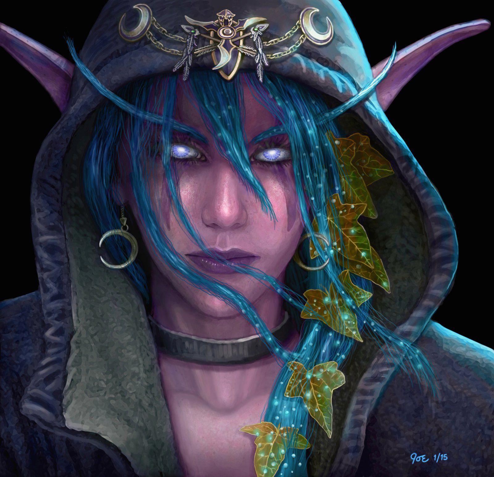 night elf - warcraftjoedomani on deviantart | fantasy art